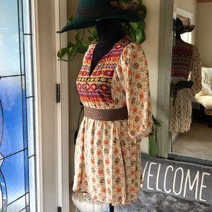 Umgee Mini Tunic Dress